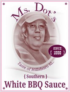 Ms. Dot's Southern White BBQ Sauce