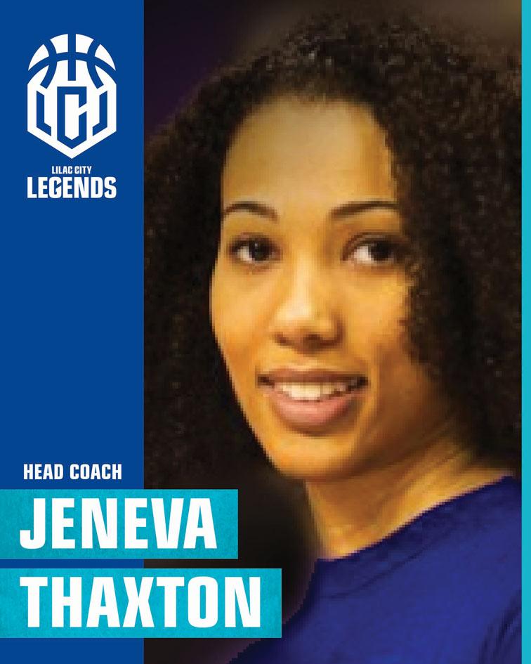 Head Coach Jeneva Thaxton