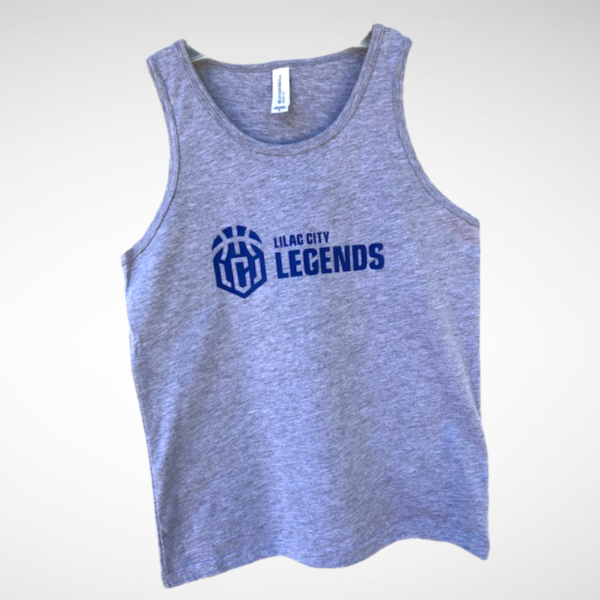Youth Heather Grey Lilac City Legends Tank