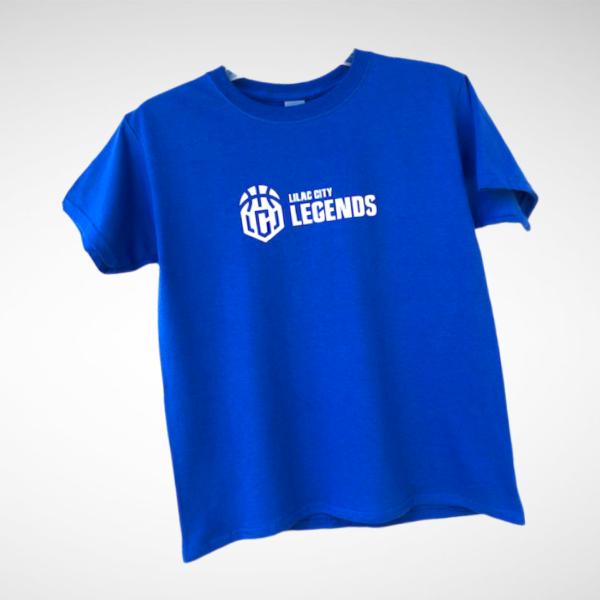 Youth Royal Blue Lilac City Legends T-Shirt